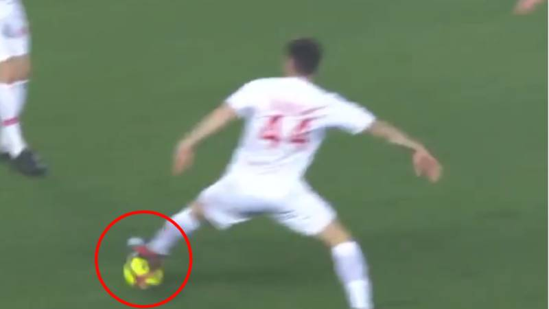 Cesc Fabregas Has Invented A New Way Of Passing A Football