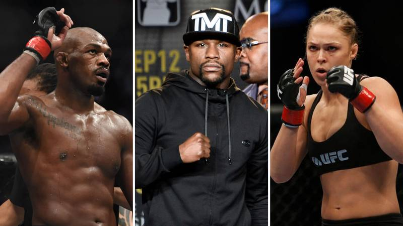 The Six Fighters That 'Defined' Combat Sports This Decade Have Been Revealed