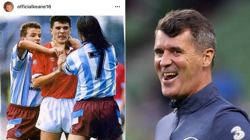 Roy Keane's Hilarious Valentine's Day Post Shows He's Already The King Of Instagram