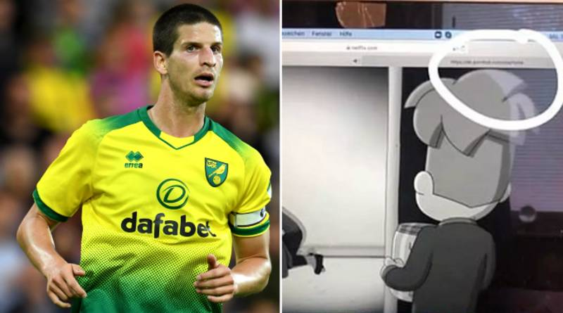 Norwich City Defender Timm Klose Caught Browsing Pornhub On Instagram Stories