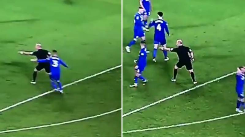 You May Have Missed Mike Dean Going Full Mike Dean Last Night