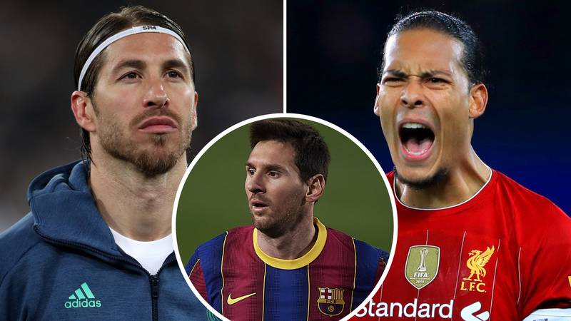Virgil Van Dijk And Sergio Ramos Name Their Toughest Opponents, Only One Picks Lionel Messi