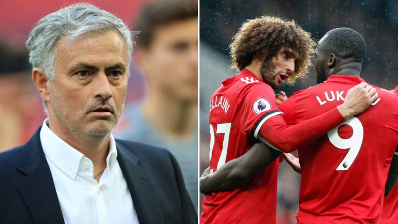 Mourinho Unhappy With Lukaku And Fellaini For Not Being Fit For FA Cup Final