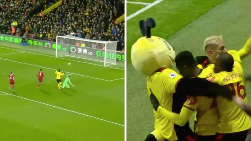 Watford End Liverpool's Unbeaten Run In The Premier League