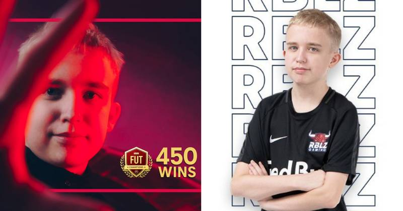 15-Year-Old Anders Vejrgang Takes Record To 450-0 On FUT Champs