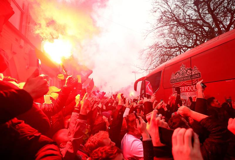 Liverpool Fans Are Planning Another 'Coach Greeting' For Man City Players On Sunday