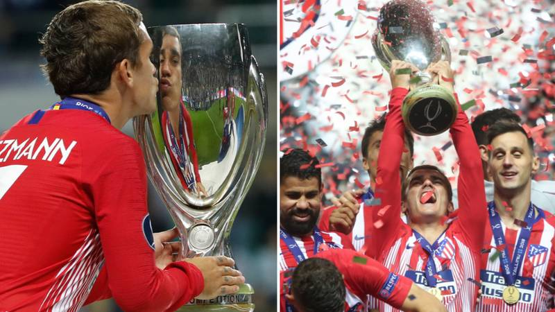 Antoine Griezmann Gives Incredible Gift To Atletico Teammates After Super Cup Win