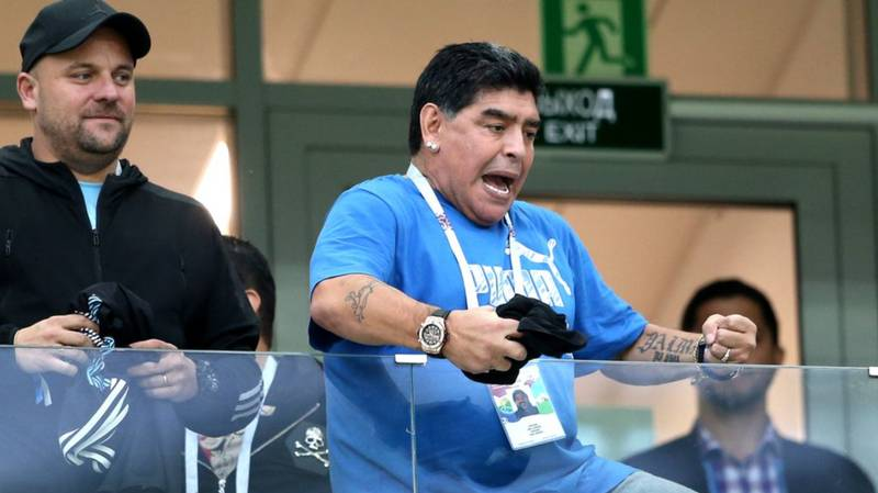 Football Icon Diego Maradona Admitted To Hospital In Argentina