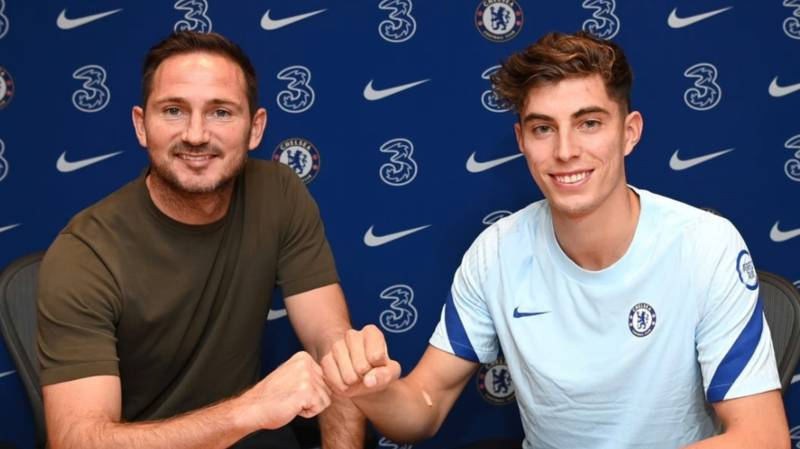 Chelsea Announce The Signing Of Kai Havertz For A Total Fee Of £89 Million