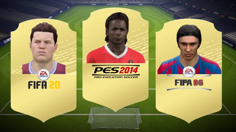 QUIZ: Can You Guess The Footballer From Their Face In FIFA And Pro Evo?