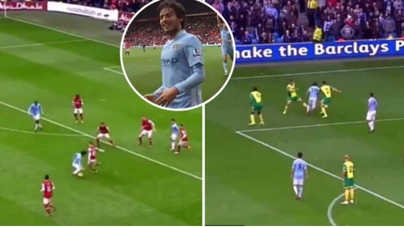 David Silva Compilation Shows He Easy He Has Made Football Look In Ten Years