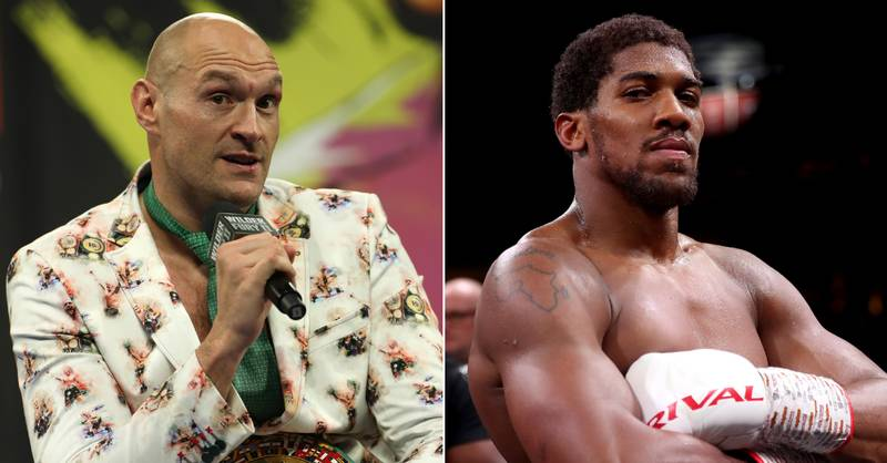 Tyson Fury Names Heavyweight Who'll Beat Anthony Joshua Before He Can