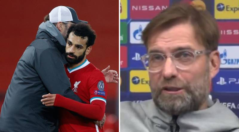 Jurgen Klopp Explains Why Mohamed Salah Played 90 Minutes For Liverpool Vs FC Midtjylland