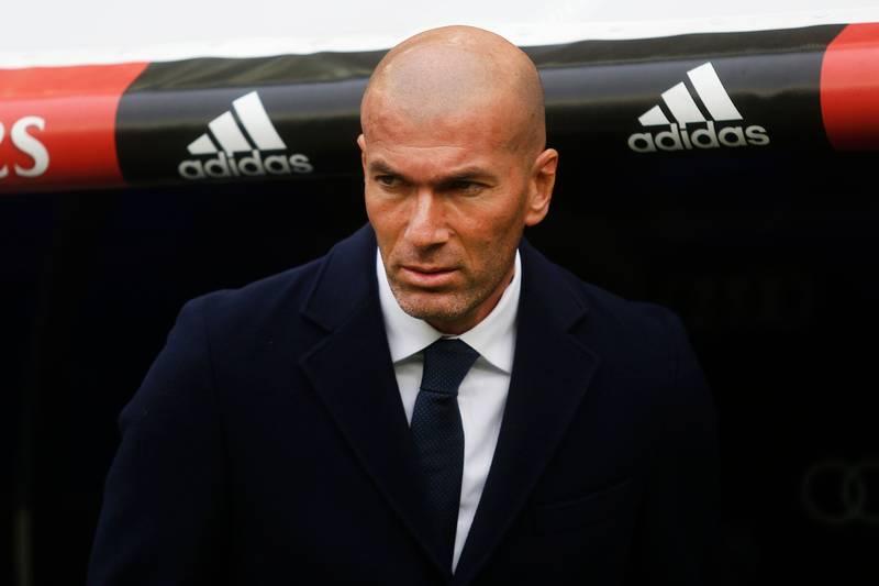 Zidane Makes Two Real Madrid Stars Available For Transfers