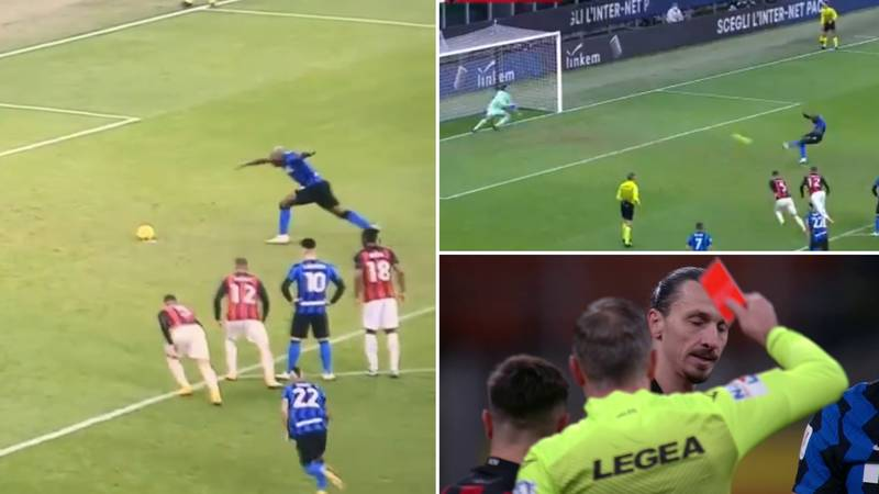 Romelu Lukaku Whacks In Penalty With Pure Rage After Zlatan Ibrahimovic Spat