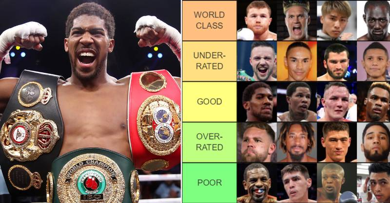 Boxing's World Champions Ranked From 'GOAT' To 'Paper Champion'