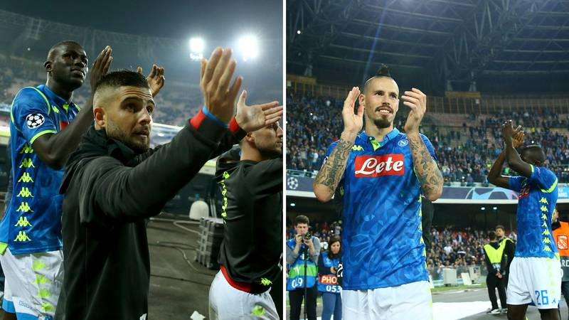 Napoli Fans Singing Champions League Song Inside Stadio San Paolo Will Give You Goosebumps