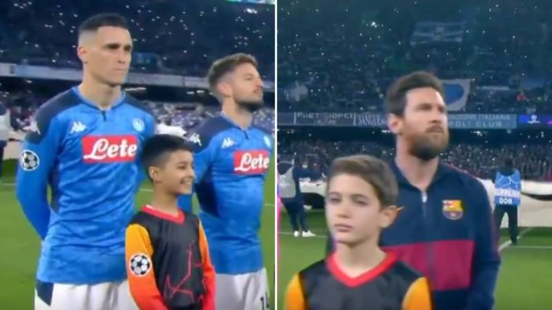 The Champions League Anthem Before Napoli Vs Barcelona Is One Of The Greatest Ever