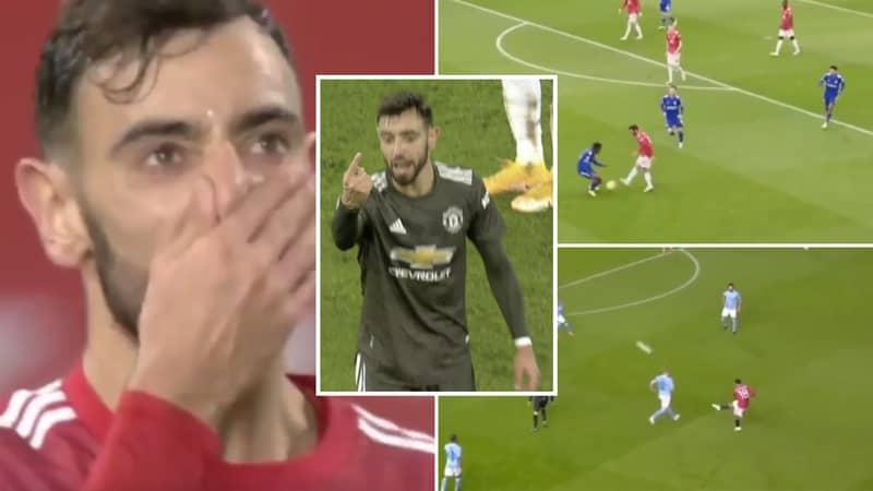 Bruno Fernandes Brutally Mocked In Twitter Thread After Poor Performance Vs Liverpool