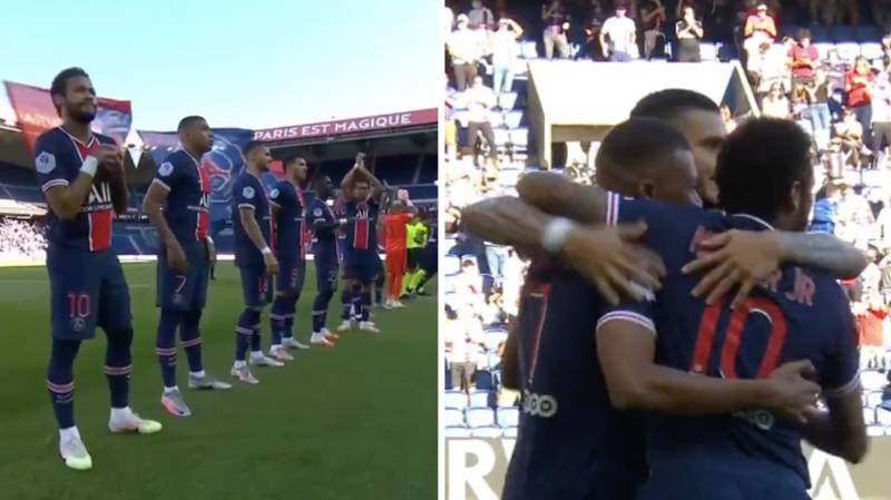 Thousands Of Fans Attend PSG Friendly And It's So Great To Hear A Real Crowd Celebrate Again
