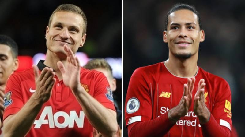 Virgil Van Dijk And Nemanja Vidic's Prime Seasons Compared To 'Settle Debate Once And For All'