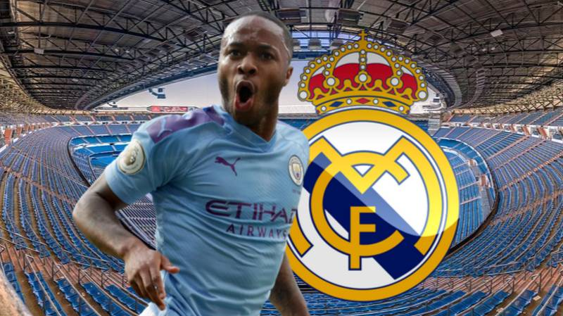 Real Madrid Met With Manchester City Forward Raheem Sterling's People In The Summer