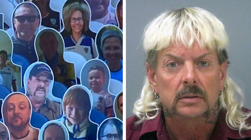 Joe Exotic Spotted In The Crowd For Leeds United Match