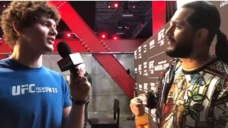 UFC Fighter Pranks Jorge Masvidal By Pretending To Be Ben Askren's Son