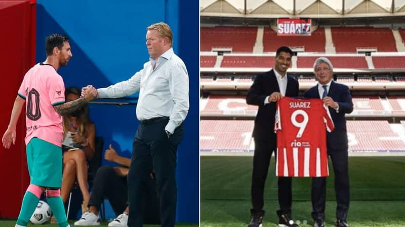 Ronald Koeman Responds To Lionel Messi's Criticism Over Luis Suarez's Departure