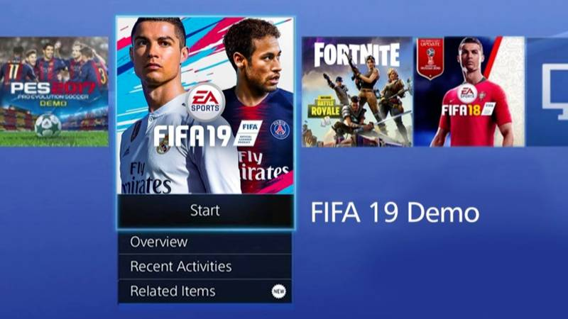 The FIFA 19 Demo Will Be Available To Download On September 13th