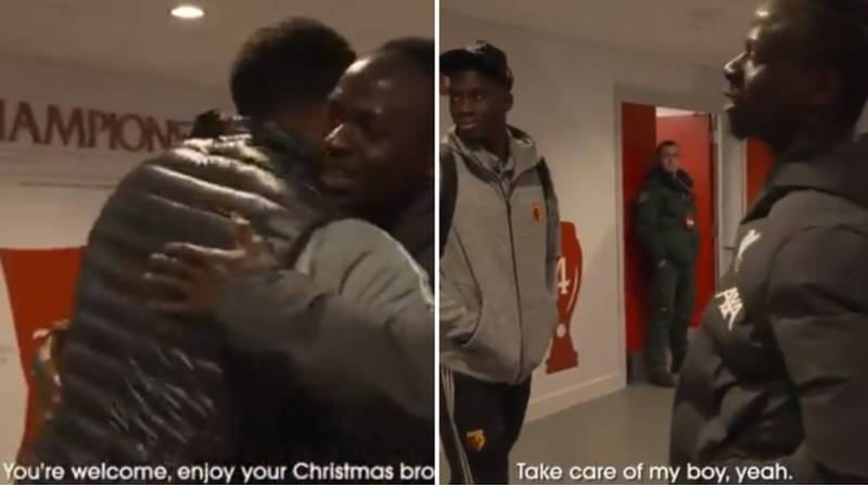 Sadio Mane Shows He's One Of The Nicest Guys In Football With Wholesome Troy Deeney Tunnel Chat