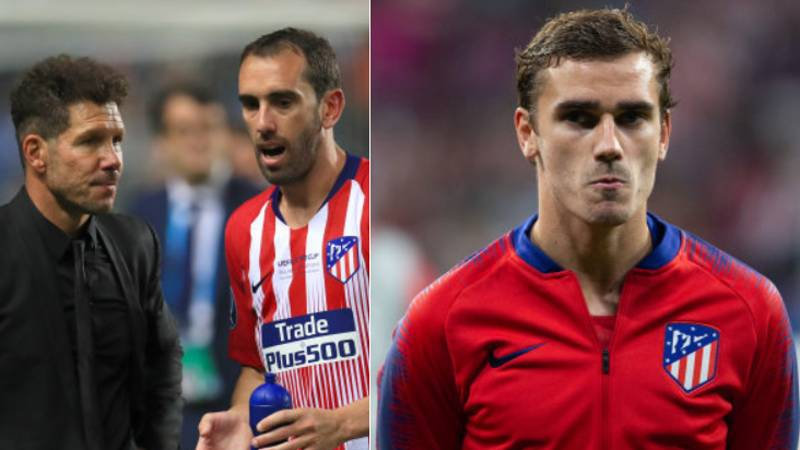 What Diego Simeone And Diego Godin Did When Griezmann Was Booed By Atleti Fans