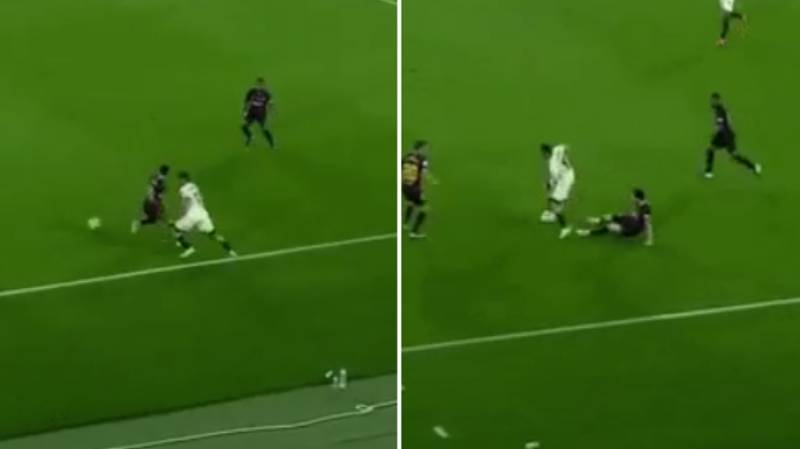 Francis Coquelin Nutmegged Lionel Messi And Left Him On The Floor