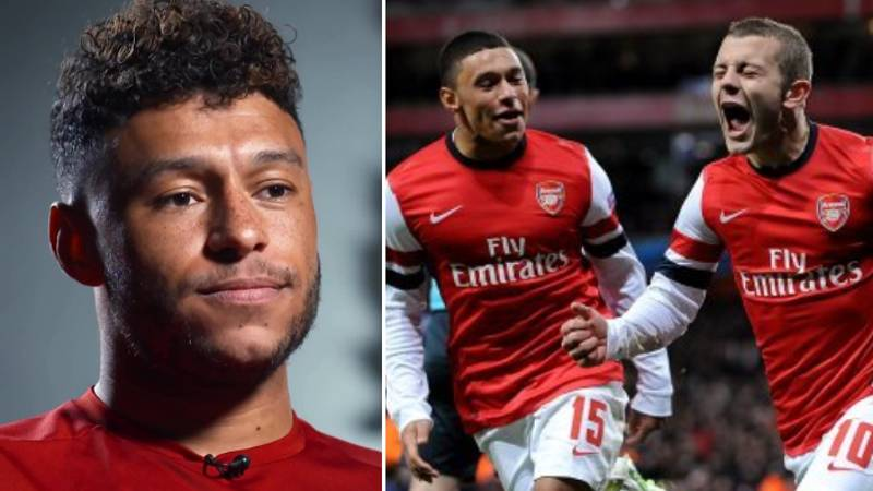 Alex Oxlade-Chamberlain Reacts To Jack Wilshere's Arsenal Departure