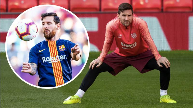 Training With Lionel Messi Makes You Feel 'Inadequate' About Your Abilities