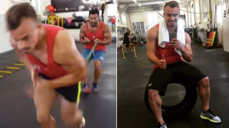 Xherdan Shaqiri's Intense Leg Workouts Revealed And They Are Painful To Watch