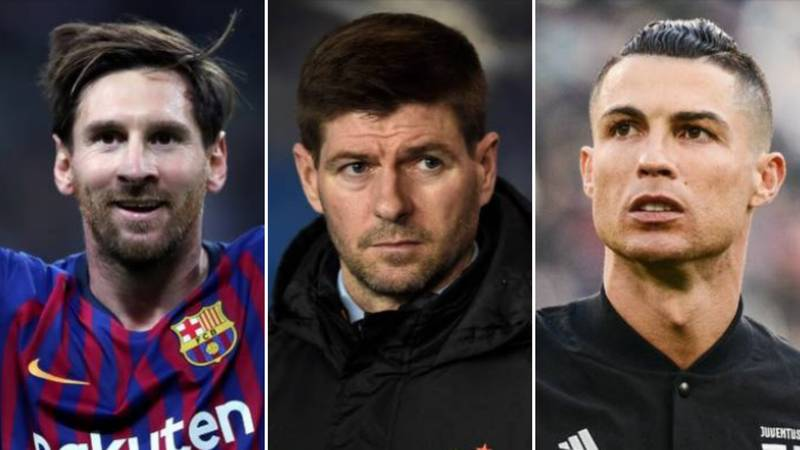 Steven Gerrard's Dream Five-A-Side Team Doesn't Include Cristiano Ronaldo
