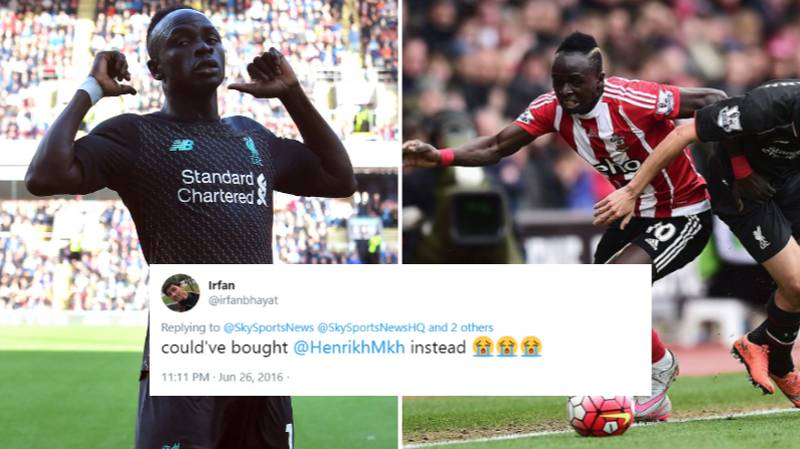 Replies From When Sadio Mane Signed For Liverpool Go Viral