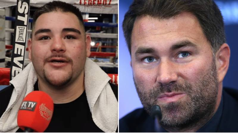 Andy Ruiz Jr Publicly Apologises To Eddie Hearn For Beating Anthony Joshua