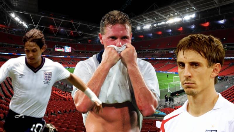 SPORTbible's All-Time England XI: Gascoigne Over Gerrard, Lineker Over Shearer And No Room For Rio