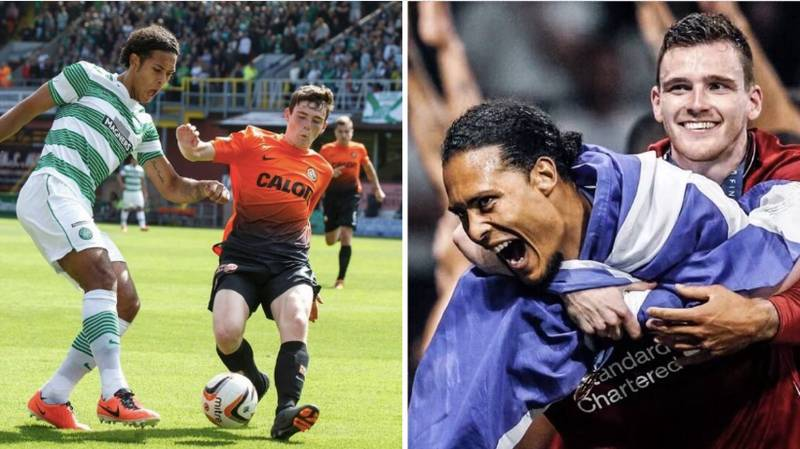 Six Years Ago, Virgil Van Dijk And Andy Robertson Played Against Each Other