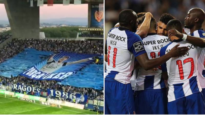 Porto Fans Stage Brilliant Tribute For Iker Casillas In 1st Minute After Heart Attack