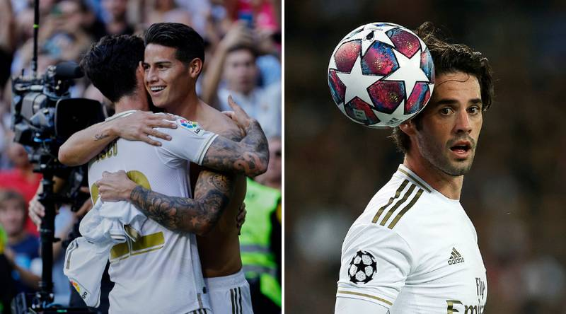 Real Madrid Star Isco Wants Carlo Ancelotti And James Rodriguez Reunion at Everton