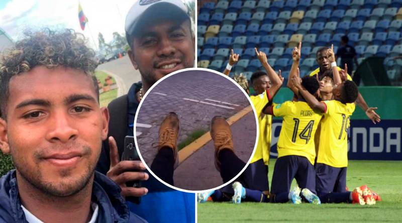 Ecuador Player's Dad Walked 12 Hours To Let His Son Play World Cup Game