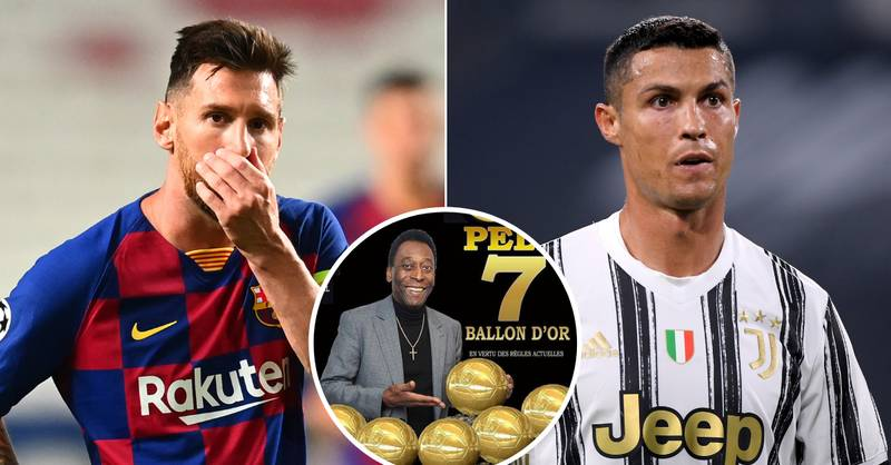 Pele Has Won More Ballon d'Or Awards Than Lionel Messi Or Cristiano Ronaldo