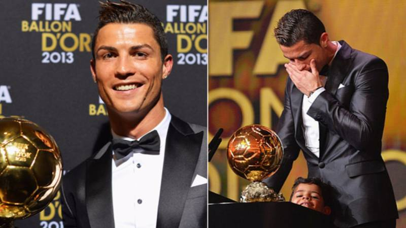 What Cristiano Ronaldo Did With His 2013 Ballon d'Or Trophy Deserves Huge Respect