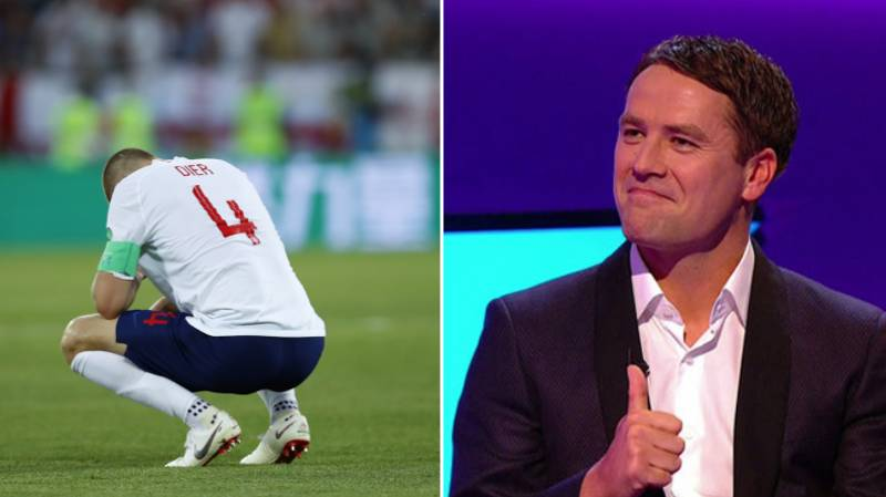 Michael Owen Annoys England Fans Ahead Of Colombia Match