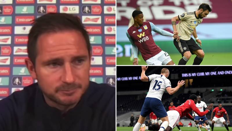 Frank Lampard Has Warned His Chelsea Players How Easily Manchester United Win Penalties