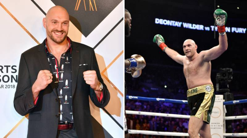 Tyson Fury Confirms That He Donated All His Deontay Wilder Money
