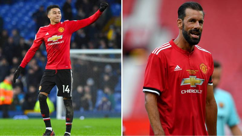 What Ruud Van Nistelrooy Said When He Saw First Saw Jesse Lingard Play